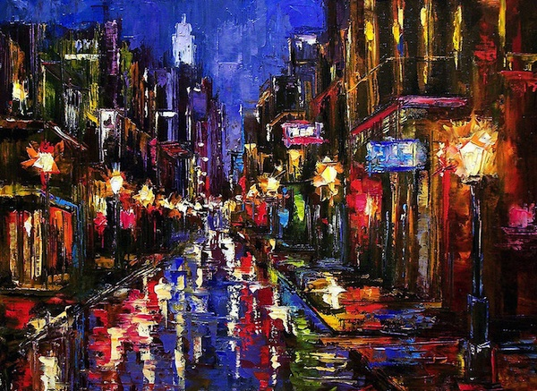 New Orleans Storm by Deborah Hurd