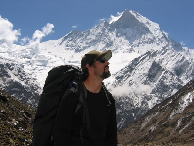 Brian Vellmure - Backpacking in the Himalayas. 2004